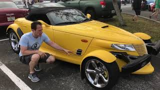 Why is the Plymouth Prowler all SHOW & no GO? - Raiti's Rides