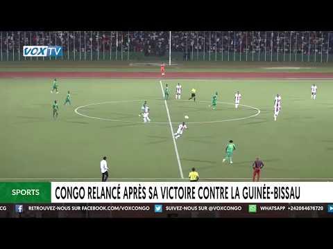 Congo relancé après sa victoire contre la Guinée Bissau