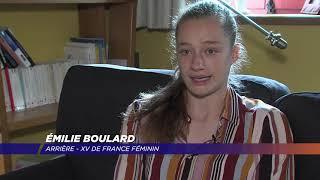 Yvelines | Émilie Boulard, la jeune pépite yvelinoise du rugby féminin français