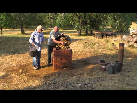 Making Biochar and Charcoal with the Brick Chimney Kiln