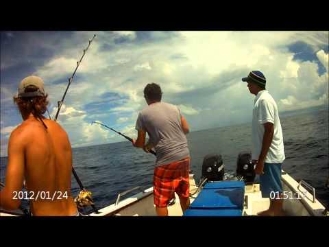 Fishing off Tanzania on FUJO ! Plenty of Action!