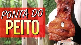 ⭐ Ponta de peito no papel celofane | Granito | Embaixador Do Churrasco