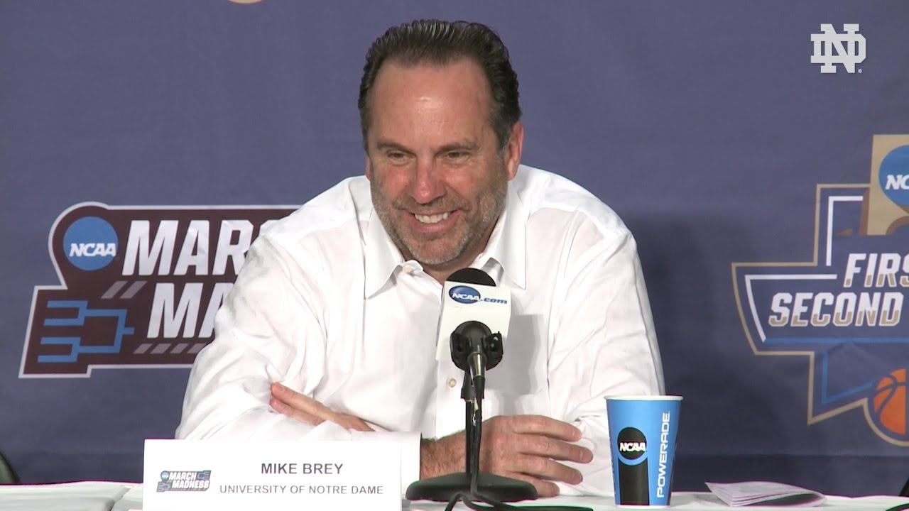 Mike Brey Post-Game Press Conference - West Virginia - YouTube