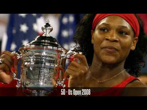 Serena Williams 100 titles (and counting)