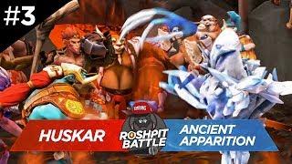 ROSH PIT BATTLE #3 | ANCIENT APPARITION vs HUSKAR | DOTA VERSUS RAP BATTLE