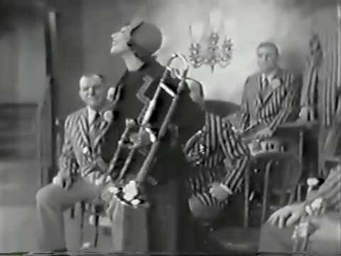 Imogene Coca, Dixieland Jazz Spoof, 1956 TV