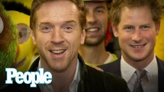 Royals Flashback: Prince Harry Rubs Elbows with Hollywood Celebs | PEOPLE Now