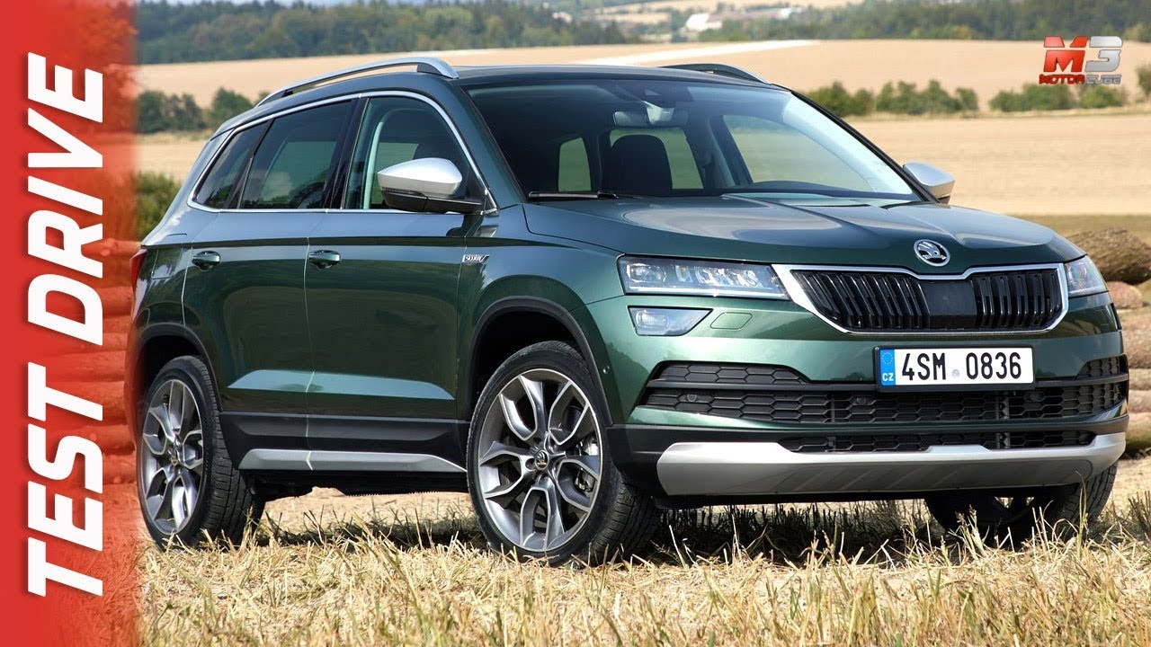 new skoda karoq scout 2019 first test drive youtube rh youtube com