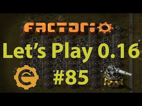 Factorio 0.16 Let's Play #85 - Iron smelting, depot expansion