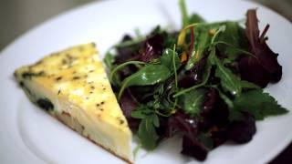Veggie Frittata W/ Goat Cheese Recipe || Kin Eats