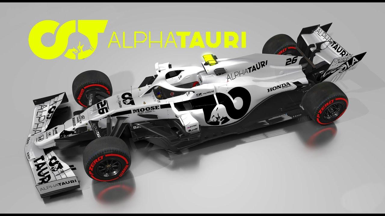 Alpha Tauri Honda Toro Rosso F1 2020 Concept Livery