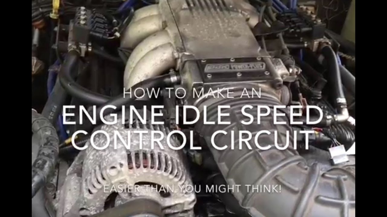 small resolution of how to make an engine idle speed control circuit