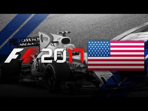 F1 2017 KARIERA | GP USA | Austin TEXAS! (#17)