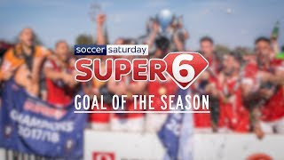 Salford City FC | Super 6 Goal of the Season 2017/18!