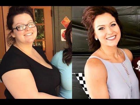 Женщина, которая весила 136 кг, за год сбросила более 50 кг и выглядит, как спортсменка