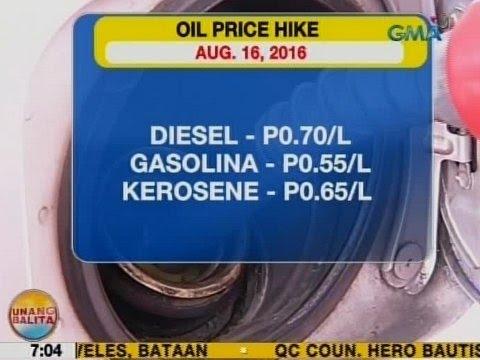 UB: Ilang oil firms, nagpatupad ng oil price hike ngayong Martes