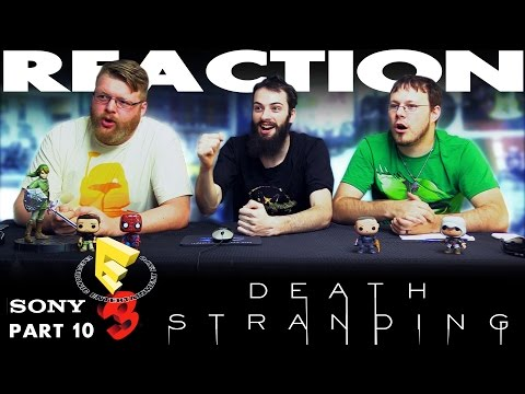 Death Stranding Trailer REACTION!! Sony E3 2016 Conference 10/12