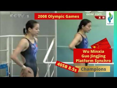 2008 Wu Minxia & Guo Jingjing CHN - 405b - 8s - 3m - Olympics