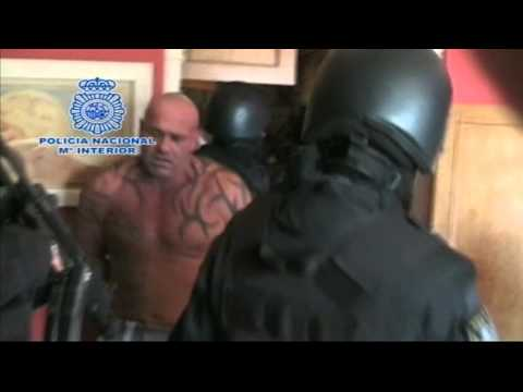 Spanish SWAT team raids villa to arrest Britain's most wanted man hiding naked in safe room