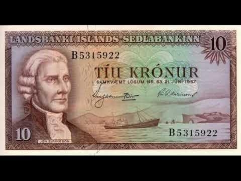 Paper Money Iceland - Iceland Krona - Banknotes - Banknotes