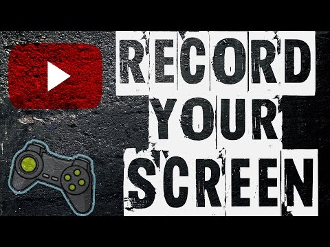 How do you record your screen?