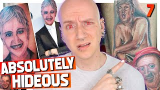 Terrible Celebrity Tattoo Fails | Tattoos Gone Wrong 7 | Roly Reacts
