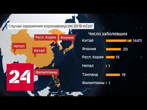 Первая жертва коронавируса вне Китая: на Филиппинах умер 44-летний пациент - Россия 24