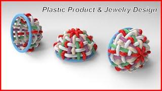Plastic Product | Jewelry Design & Rendering in Siemens NX