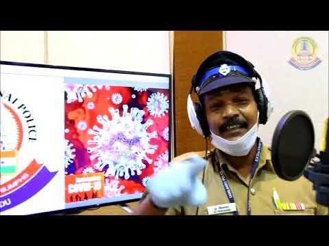 Tamil Nadu Police Corona Awareness Song | காவல்துறை கொரோனா விழிப்புணர்வு பாடல் | Actor Black Pandi