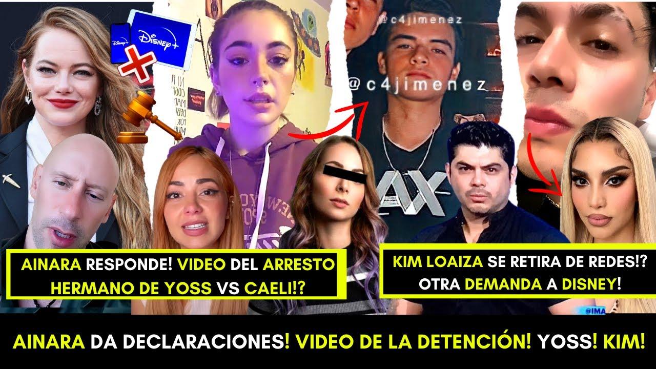 AINĄRA RESPONDE! VIDEO INÉDITO DEL DETENIDO EN EL AEROPUERTO! CAELI SE SINCERA! KIM LOAIZA! DISNEY!