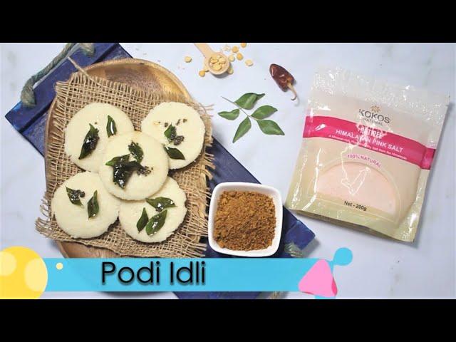 Cassava Flour Podi Idli