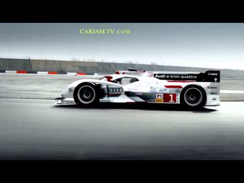 2013 Audi R18 HD Le Mans Winner Cool Commercial German Carjam TV HD Car TV Show