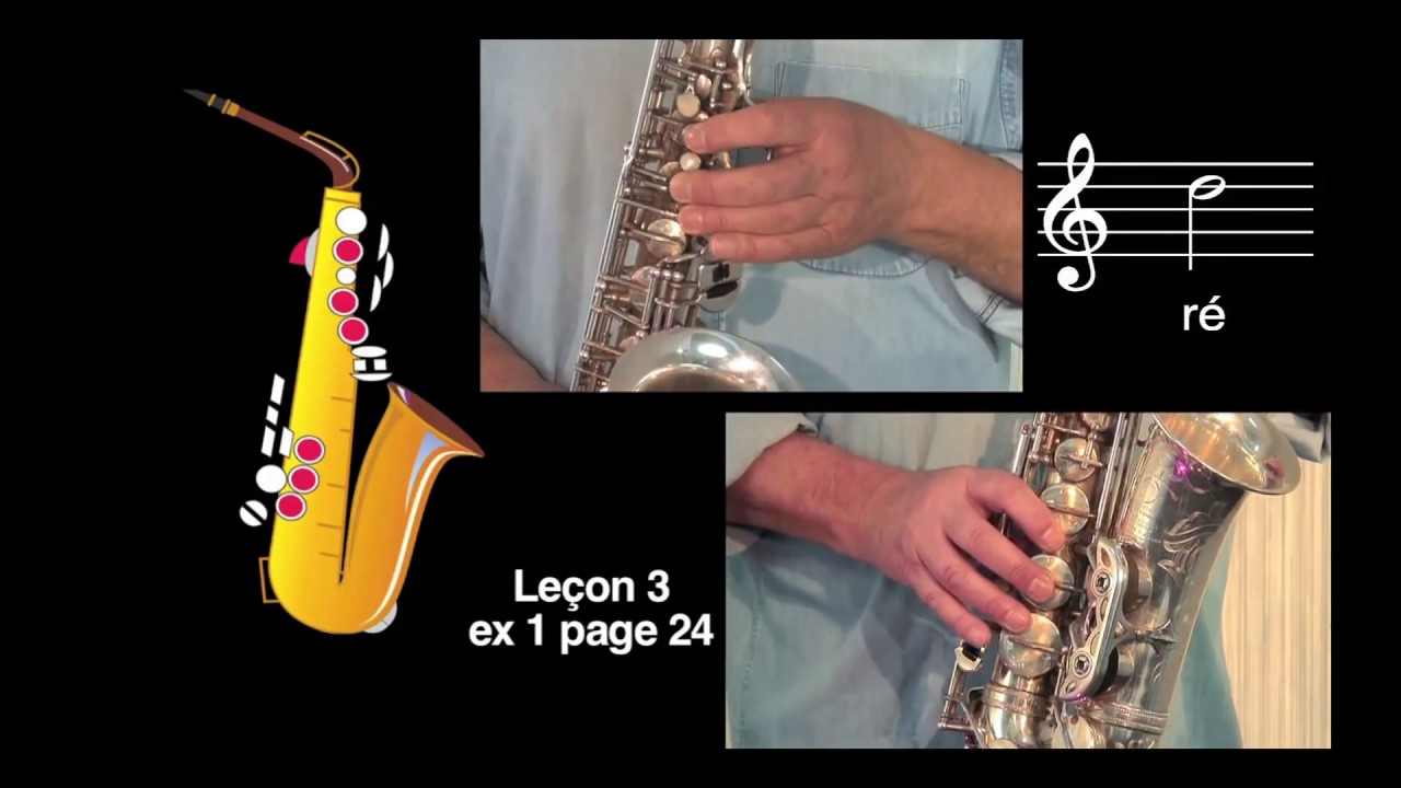 m thode coup de pouce cours de saxophone le on 3 vid o n 1 youtube. Black Bedroom Furniture Sets. Home Design Ideas