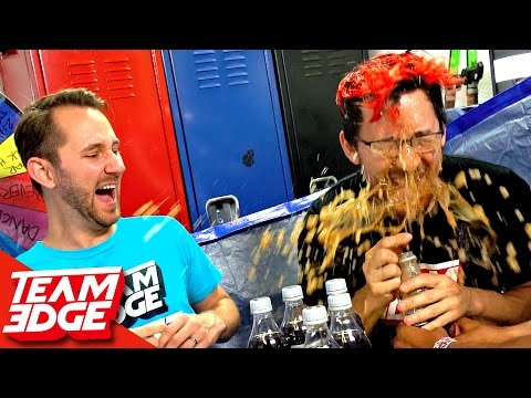 Diet Coke and Mentos Roulette!! ft. Markiplier