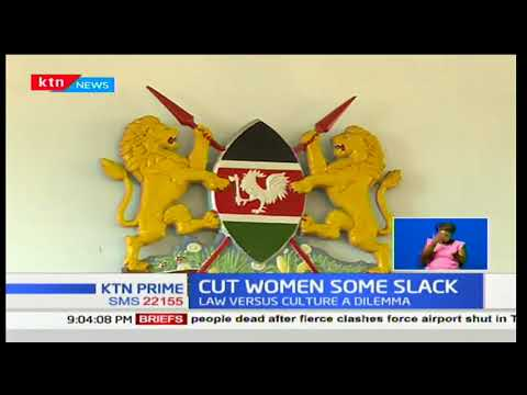 A case for FGM enters Machakos Law Courts as culture takes the stand