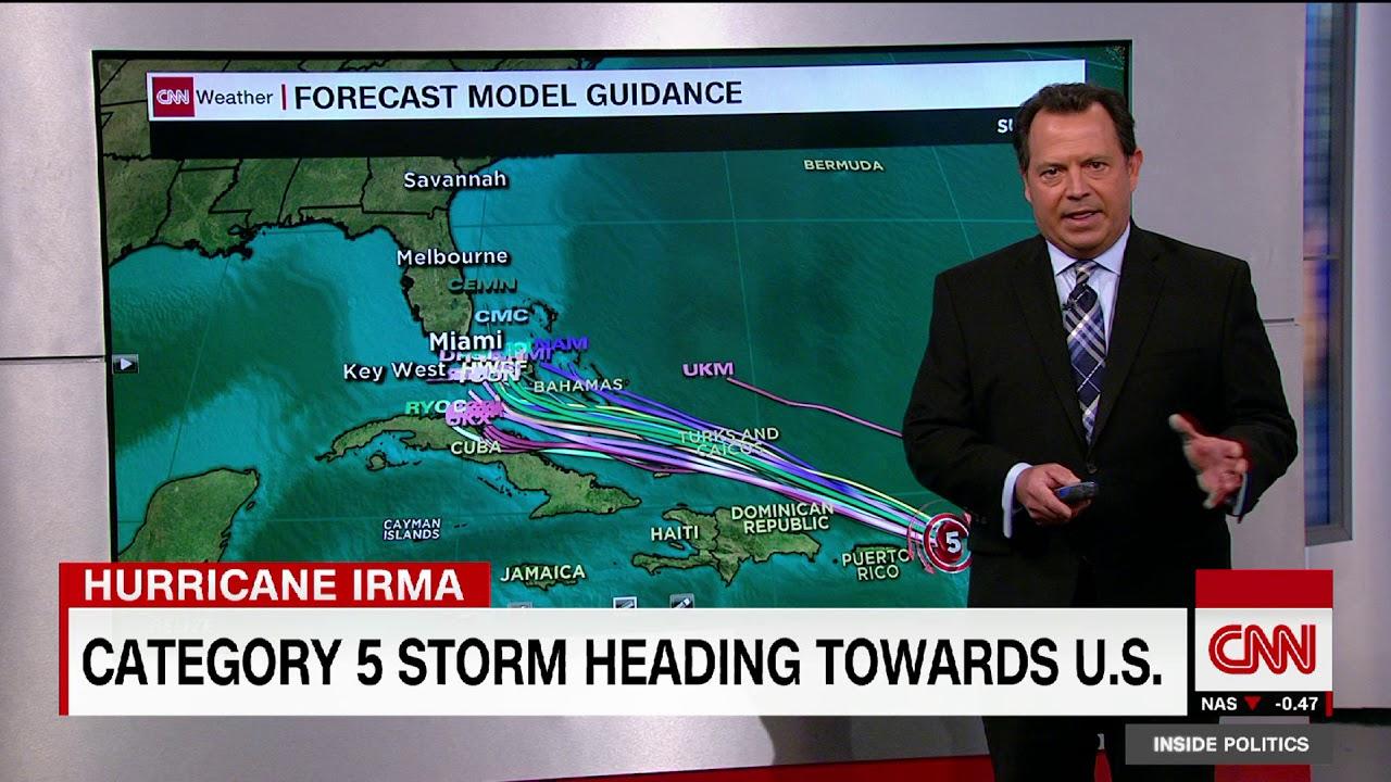 Hurricane Irma rips the Caribbean, could turn toward Miami