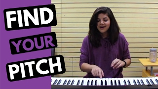 How to Sing in Tune: tips and at-home exercises to find your pitch for singers