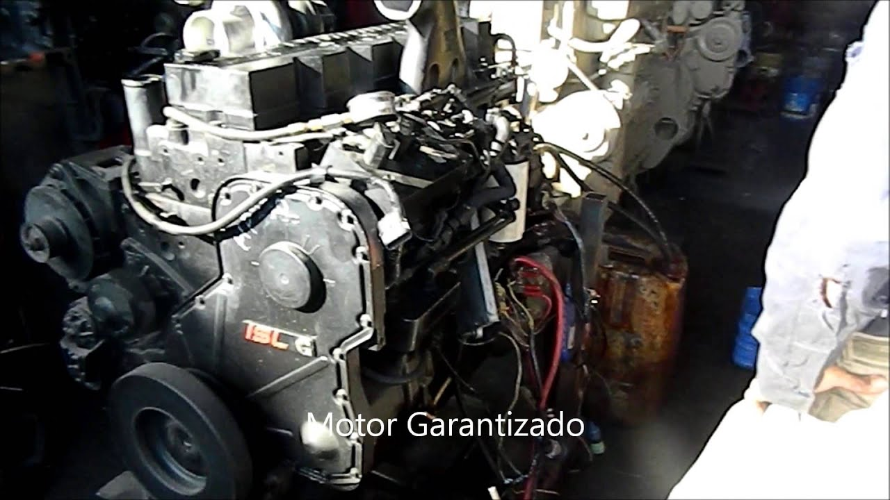 Motor Cummins ISL 330 HP