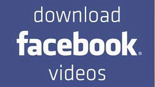طريقة تنزيل الفيديو من الفيس بوك على الكمبيوتر (بدون برامج)