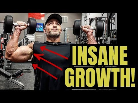 Gym Upper Body Workout Routine For Insane Muscle Growth (Hybrid Workout!)