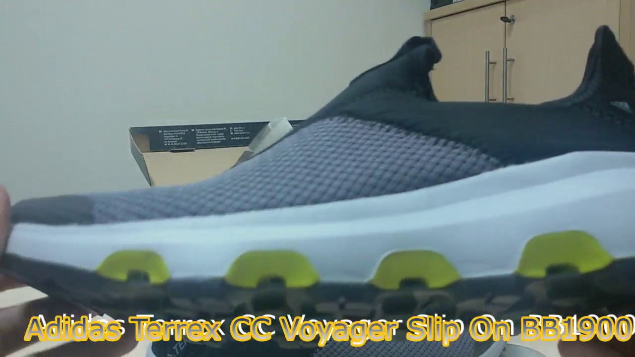 Unboxing Review sneakers Adidas Terrex CC Voyager Slip On BB1900 ... b96c6e9f45