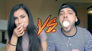ARAB VS MEXICAN (Chubby Bunny Challenge)