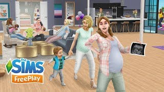 The Sims FreePlay Pregnancy Update Trailer