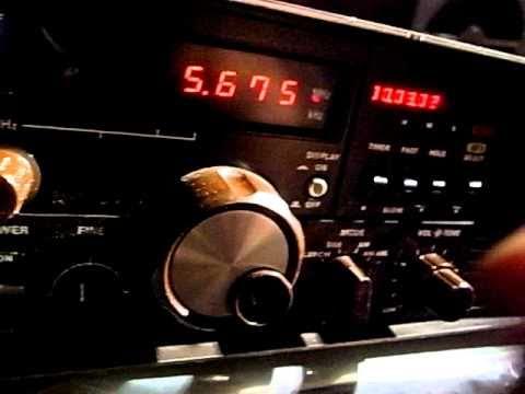 Yaesu FRG-7000 5673kHz Beijin Volmet 北京ボルメット received in Japan