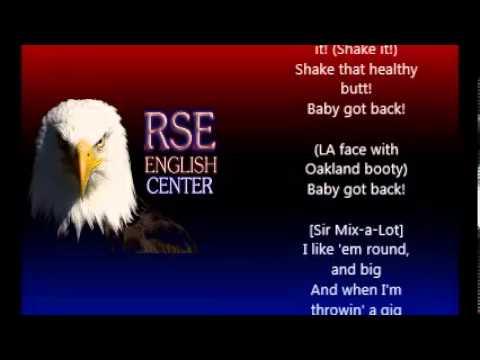 Baby Got Back Lyrics