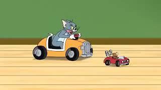 Tom And Jerry Cartoon//car Racing //New MCN
