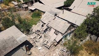 Как выглядит с дрона дом, который взорвался из-за утечки газа