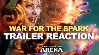 LILIANA NO!! War of the Spark Trailer Reaction! Magic Arena MTG