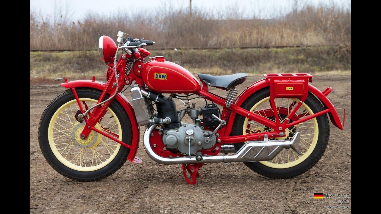 Мото обзор - DKW SS 500 (moto review)