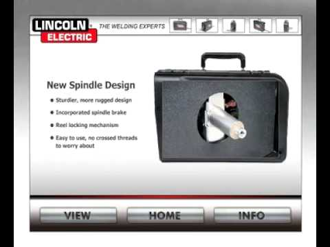 the lincoln electric ln 25 pro portable industrial wire feeder